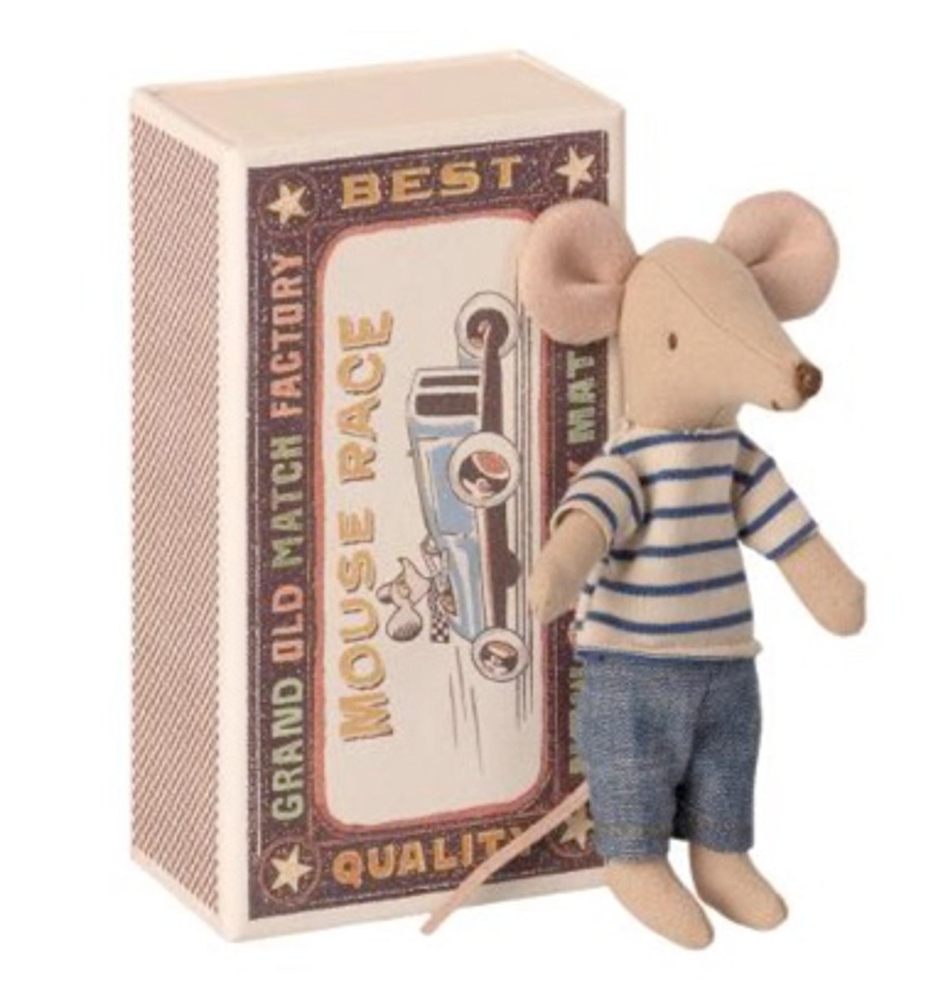 BIG BROTHER MOUSE IN A MATCHBOX