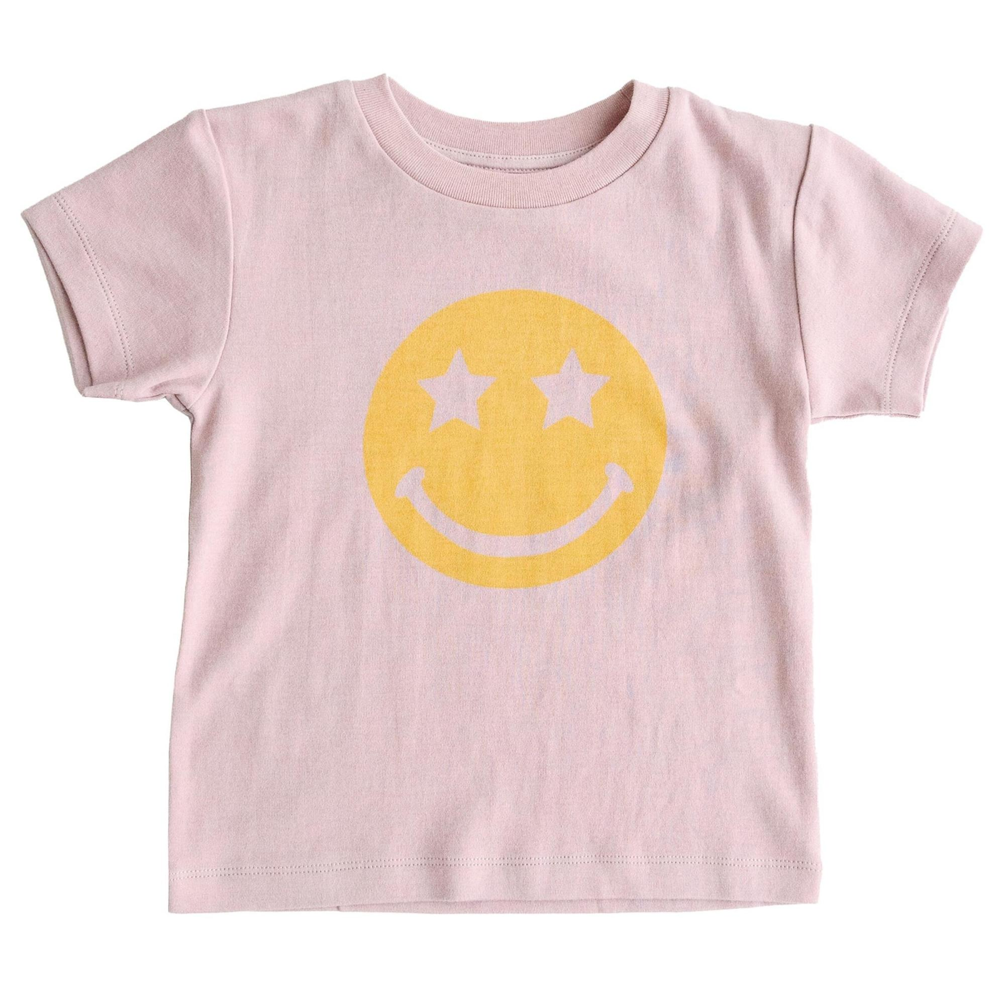 Bizz x Siss Graphic S/S Tee in Smiley Face