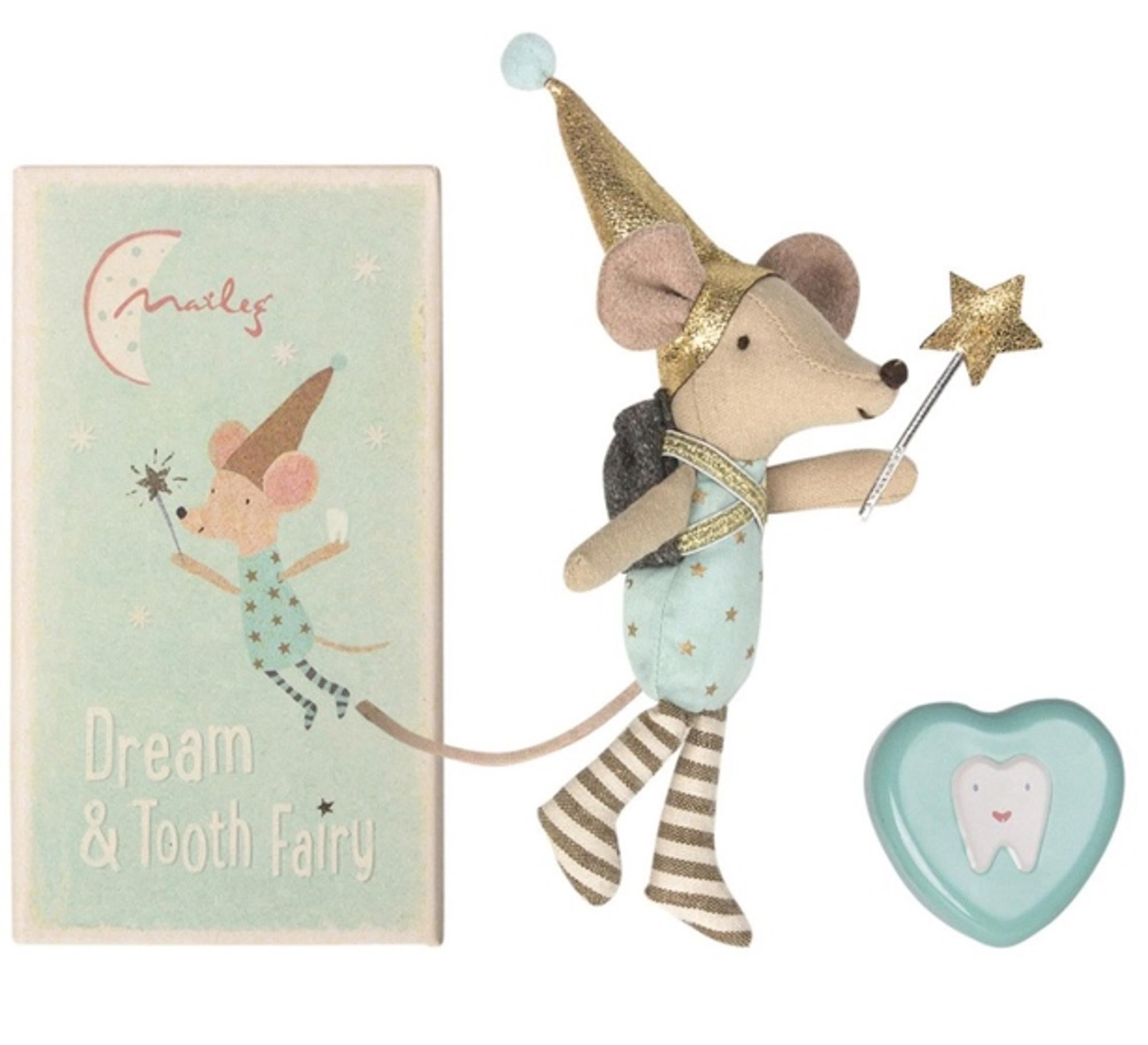 TOOTH FAIRY: BIG BROTHER MOUSE WITH TOOTH BOX