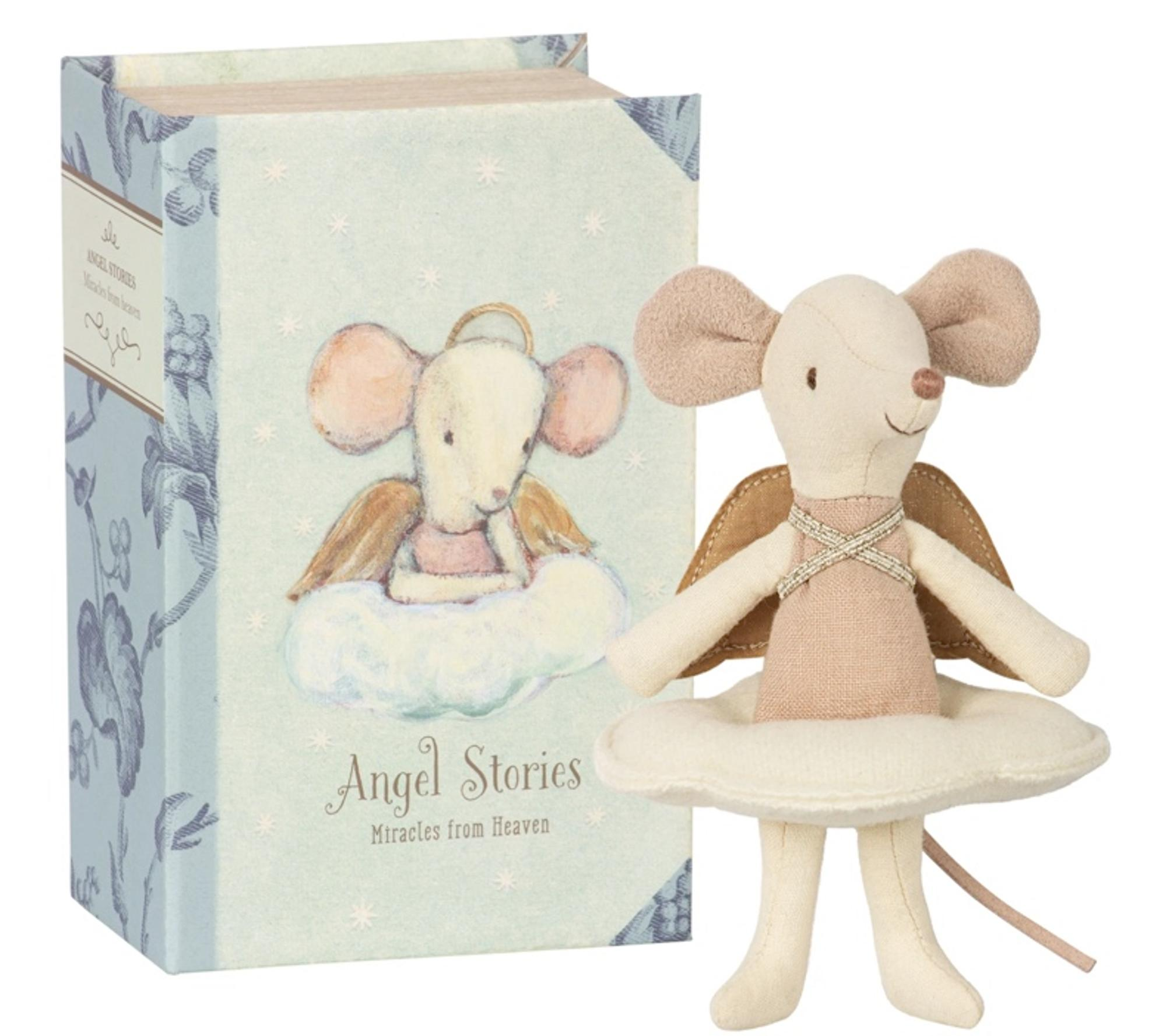 MAILEG GUARDIAN ANGEL MOUSE: BIG SISTER IN BOOK